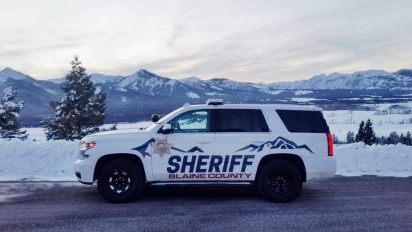 Sheriff SUV Near Mountains