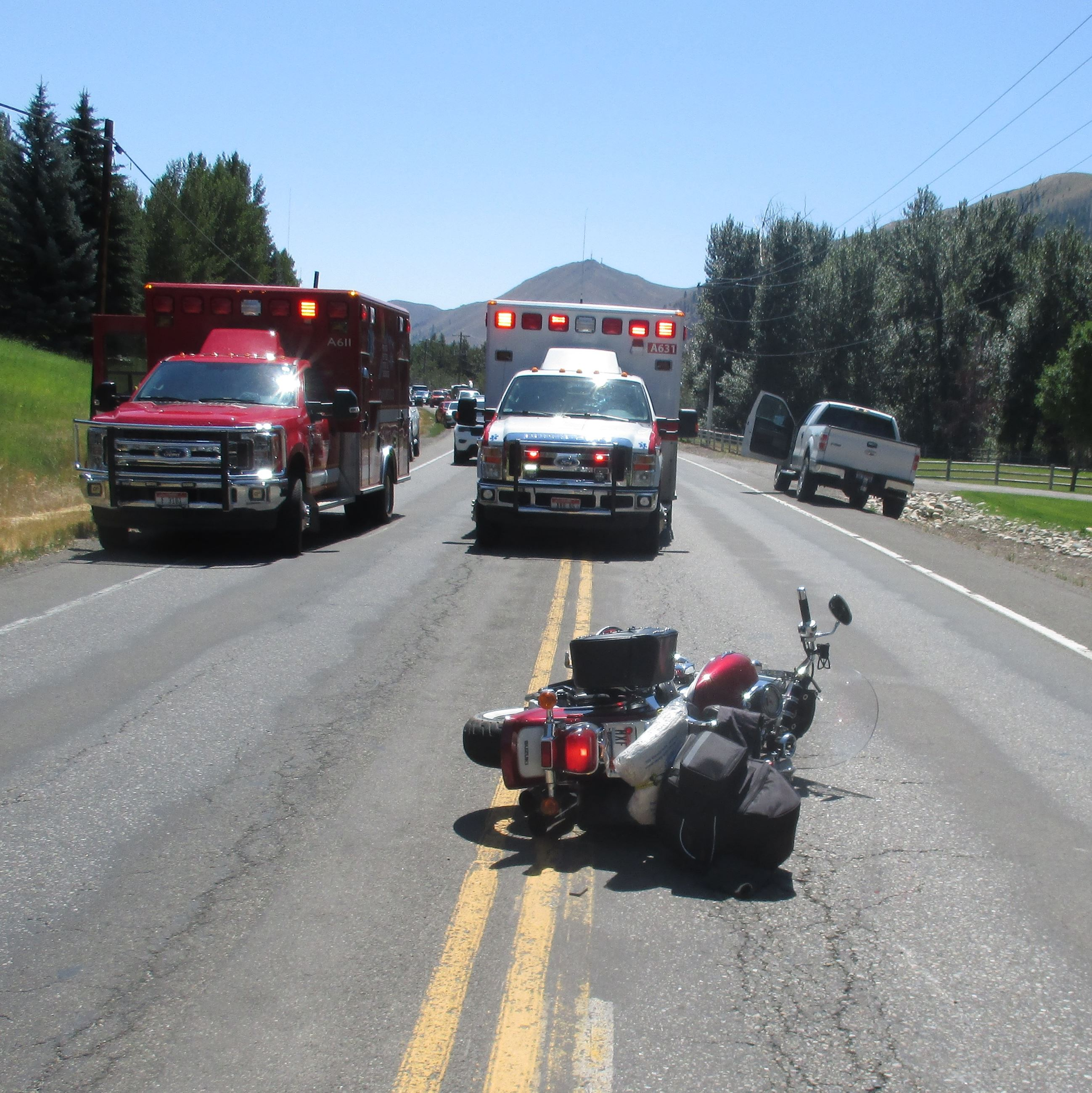 Connell Motorcycle Crash