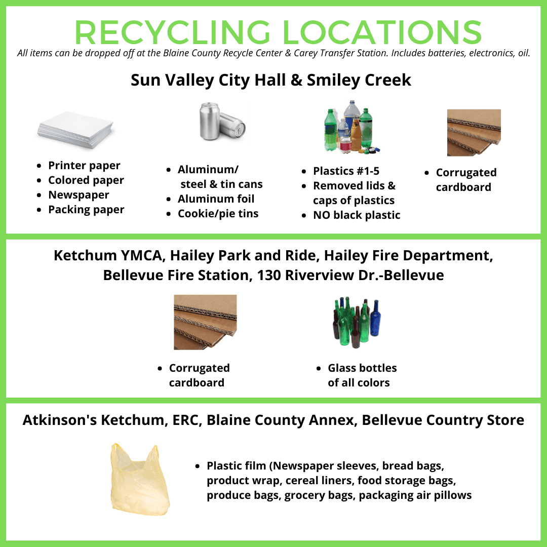 Recycling Drop Off Locations